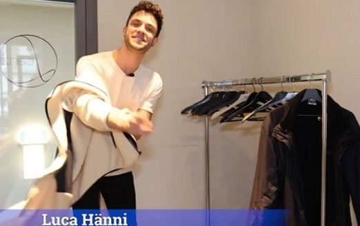 Luca Hänni im Video